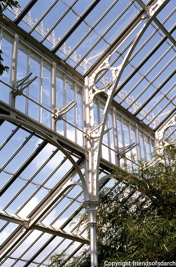 London: Kew Gardens, Temperate House--Detail.
