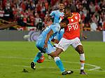 Jaguares venció como visitante 2-0 a Independiente Santa Fe. Fecha 18 LIga Águila I-2017.