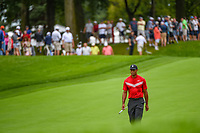 Tiger Woods (USA) makes his way down 1 during Rd4 of the 2019 BMW Championship, Medinah Golf Club, Chicago, Illinois, USA. 8/18/2019.<br /> Picture Ken Murray / Golffile.ie<br /> <br /> All photo usage must carry mandatory copyright credit (© Golffile | Ken Murray)