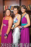 Pictured at the St. Joseph's Secondary School, Abbeyfeale Debs in the Abbeygate Hotel on Thursday, from left: Bri?d Moynihan, Niamh Shanahan, Deirdre Gaire.