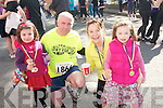 Attending the Jack and Jill fun run in Kenmare last Saturday was the Lynch family .L-R Ruth, Colm, Jane and Caroline.