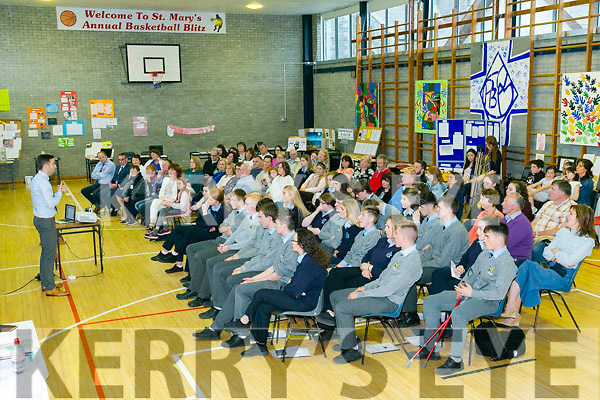 TY awards evening for Presentation and St Patrick's secondary schools, Castleisland on Monday