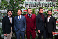 (L-R) J. C. Chandor, Charlie Hunnam, Ben Affleck, Garrett Hedlund and Oscar Isaac attend the photocall for 'Triple Frontier' at Callao Cinema on March 06, 2019 in Madrid, Spain. (ALTERPHOTOS/Alconada)<br /> Foto Alterphotos / Insidefoto<br /> ITALY ONLY