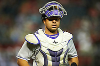 Colorado Rockies catcher Wilin Rosario #20 during a National League regular season game against the Arizona Diamondbacks at Chase Field on October 2, 2012 in Phoenix, Arizona. Arizona defeated Colorado 5-3. (Mike Janes/Four Seam Images)