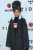 NEW YORK, NY - OCTOBER 17:   Willow Smith at TIDAL X: Brooklyn – 3rd Annual Benefit Concert at Barclays Center on October 17, 2017 in New York City. Credit: Diego Corredor/MediaPunch /NortePhoto.com