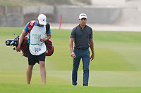 Joakim Lagergren (SWE) on the 9th during Round 1 of the Oman Open 2020 at the Al Mouj Golf Club, Muscat, Oman . 27/02/2020<br /> Picture: Golffile   Thos Caffrey<br /> <br /> <br /> All photo usage must carry mandatory copyright credit (© Golffile   Thos Caffrey)