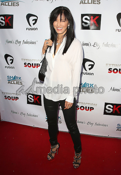 "05 June 2015 - Los Angeles, California - Kelly Hu. ""Extinction Soup"" Shark Conservation Documentary World Premiere held at Brakeman Brewery. Photo Credit: F. Sadou/AdMedia"