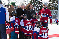 King Philippe & Queen Mathilde of Belgium - Visit to a project of the Montreal Canadiens Children