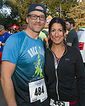 Tom Ferguson and Gina Rizzi during the 51st Annual Journal Jog in  Reno on Sunday, Sept. 8, 2019.