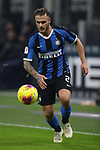 Federico Dimarco of Inter during the Coppa Italia match at Giuseppe Meazza, Milan. Picture date: 14th January 2020. Picture credit should read: Jonathan Moscrop/Sportimage