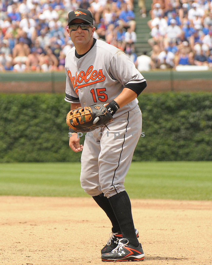 KEVIN MILLAR, of the Baltimore Orioles , in action against the Chicago Cubs  during the Orioles game on June 26, 2008 in Chicago, IL. The Orioles won the game11-4.