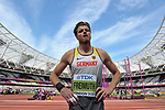 Rico FREIMUTH (GER) in the mens decathlon shot put. IAAF world athletics championships. London Olympic stadium. Queen Elizabeth Olympic park. Stratford. London. UK. 11/08/2017. ~ MANDATORY CREDIT Garry Bowden/SIPPA - NO UNAUTHORISED USE - +44 7837 394578