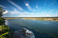 Pace Bend Park is located in far western Travis County in the Hill Country of central Texas. With more than nine miles of shoreline along scenic Lake Travis, Pace Bend is one of the most popular areas in the Highland Lakes region, offering visitors a wide range of recreational opportunities. The west side of the park features high, limestone cliffs and numerous rocky coves with some of the most impressive views available of Lake Travis, especially at sunset.