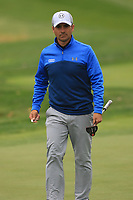 Filipe Aguilar (CHI) on the 7th green during Round 3 of the D+D Real Czech Masters at the Albatross Golf Resort, Prague, Czech Rep. 02/09/2017<br /> Picture: Golffile | Thos Caffrey<br /> <br /> <br /> All photo usage must carry mandatory copyright credit     (&copy; Golffile | Thos Caffrey)