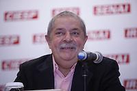 SAO PAULO,  26 DE JUNHO DE 2012. LULA NA FIESP. O ex presidente Luis Inacio Lula Da Silva durante reunião de apresentação do Museu da democracia na Fiesp. FOTO: ADRIANA SPACA - BRAZIL PHOTO PRESS