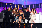 Agoney, Miriam, Aitana, Ana Guerra, Alfred, Amaia durante la Gala Eurovision de Operacion Triunfo
