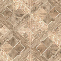 Coronel, a stone waterjet mosaic, shown in Ironwood.