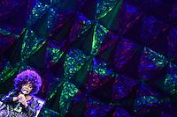 """SÃO PAULO,SP, 04.10.2015 - SHOW-SP - A cantora Elza Soares durante apresentação de show inédito que marca o lançamento do disco """"A Mulher do Fim do Mundo"""", o 34º da sua carreira no Auditório Ibirapuera em Moema na região sul de São Paulo, na noite de ontem sábado, 03. (Foto: William Volcov/Brazil Photo Press)"""
