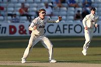 Dom Bess of Somerset appeals for a wicket during Essex CCC vs Somerset CCC, Specsavers County Championship Division 1 Cricket at The Cloudfm County Ground on 25th June 2018