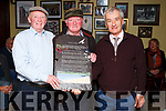 "Winner of the Newly Composed Ballad Competition is Pat Sullivan from Scartaglin with his ballad  ""Sliabh Luachra Long Ago"" at The Garry McMahon 9th. Annual Singing Weekend"
