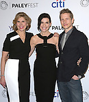 Christine Baranski, Julianna Margulies and Matt Czuchry attends 32ND ANNUAL PALEYFEST LA - The Good Wife screening held at The Dolby Theater  in Hollywood, California on March 07,2015                                                                               © 2015 Hollywood Press Agency
