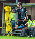 Killie's Manuel Pascali celebrates after he scores their goal.