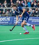 AMSTELVEEN - Lukas Sutorius (Pinoke) tijdens de competitie hoofdklasse hockeywedstrijd heren, Pinoke-Amsterdam (1-1)   COPYRIGHT KOEN SUYK