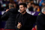 Diego Pablo Simeone coach of Atletico de Madrid during the La Liga match between Atletico de Madrid and Athletic Club de Bilbao at Wanda Metropolitano Stadium in Madrid, Spain. October 26, 2019. (ALTERPHOTOS/A. Perez Meca)