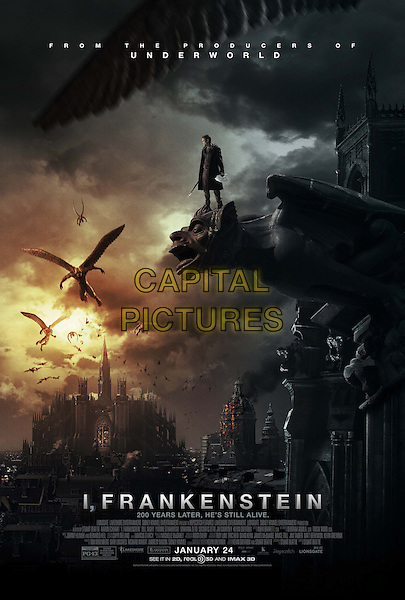 POSTER ART<br /> in I, Frankenstein (2014) <br /> *Filmstill - Editorial Use Only*<br /> CAP/FB<br /> Image supplied by Capital Pictures