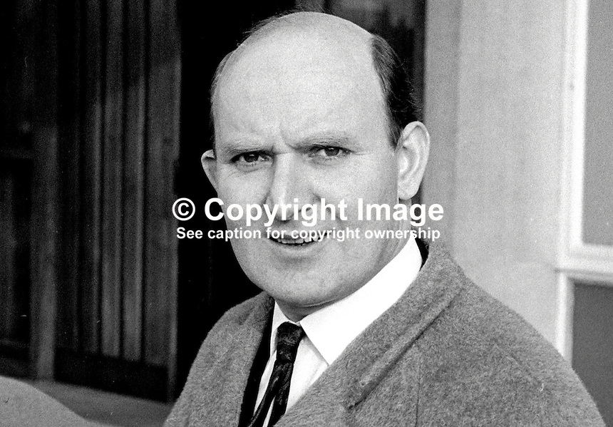 Fred Corbett, press officer, N Ireland Information Service, Belfast, 196802000037FC1..Copyright Image from Victor Patterson, 54 Dorchester Park, Belfast, UK, BT9 6RJ..Tel: +44 28 9066 1296.Mob: +44 7802 353836.Voicemail +44 20 8816 7153.Skype: victorpattersonbelfast.Email: victorpatterson@me.com.Email: victorpatterson@ireland.com (back-up)..IMPORTANT: If you wish to use this image or any other of my images please go to www.victorpatterson.com and click on the Terms & Conditions. Then contact me by email or phone with the reference number(s) of the image(s) concerned.