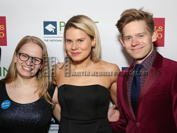 Maggie Keenan-Bolger, Celia Keenan-Bolger and Andrew Keenan-Bolger attends the Point Foundation hosts Annual Point Honors New York Gala Celebrating The Accomplishments Of LGBTQ Students at The Plaza Hotel on April 9, 2018 in New York City.