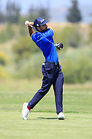 Francesco Laporta (ITA) during the third round of the Rocco Forte Sicilian Open played at Verdura Resort, Agrigento, Sicily, Italy 12/05/2018.<br /> Picture: Golffile   Phil Inglis<br /> <br /> <br /> All photo usage must carry mandatory copyright credit (&copy; Golffile   Phil Inglis)