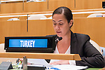 The representative of Turkey exercises her country&rsquo;s right of reply during the general debate of the General Assembly&rsquo;s seventy-first session<br /> <br /> <br /> <br /> General Assembly Seventy-first session 20th plenary meeting<br /> <br /> General Debate