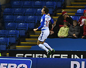 31st October 2017, Madejski Stadium, Reading, England; EFL Championship football, Reading versus Nottingham Forest; John Swift of Reading celebrates scoring his sides first goal