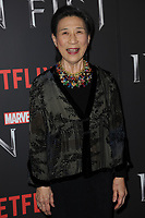 www.acepixs.com<br /> March 15, 2017  New York City<br /> <br /> Wai Ching Ho attending Marvel's 'Iron Fist' New York screening at AMC Empire 25 on March 15, 2017 in New York City.<br /> <br /> Credit: Kristin Callahan/ACE Pictures<br /> <br /> <br /> Tel: 646 769 0430<br /> Email: info@acepixs.com