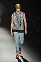 Spring/Summer 2014 Collection of Japanese fashion brand DRESSCAMP on October 15, 2013, in Tokyo.