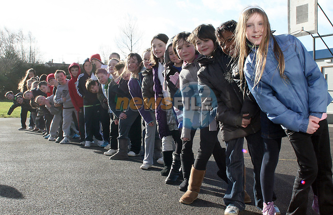 Non Uniform Day in aid of Haiti at Donore National School...Photo NEWSFILE/Jenny Matthews.(Photo credit should read Jenny Matthews/NEWSFILE)....This Picture has been sent you under the condtions enclosed by:.Newsfile Ltd..The Studio,.Millmount Abbey,.Drogheda,.Co Meath..Ireland..Tel: +353(0)41-9871240.Fax: +353(0)41-9871260.GSM: +353(0)86-2500958.email: pictures@newsfile.ie.www.newsfile.ie.FTP: 193.120.102.198.