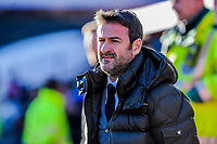 Leeds United's manager Thmas Christiansen during the Sky Bet Championship match between Barnsley and Leeds United at Oakwell, Barnsley, England on 25 November 2017. Photo by Stephen Buckley / PRiME Media Images.