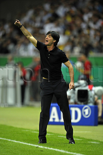 03 06 2010  International Friendly Germany v Bosnia, played at the Frankfurt Commerzbank Arena. team manager Joachim Loew Germany in Rage Frankfurt