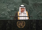 72 General Debate &ndash; 23rd of September  2017<br /> <br /> H.E. Adel Ahmed AL-JUBEIR<br /> Minister for Foreign Affairs of<br /> SAUDI ARABIA