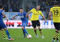 FUSSBALL   1. BUNDESLIGA   SAISON 2012/2013   17. SPIELTAG   TSG 1899 Hoffenheim - Borussia Dortmund      16.12.2012           Mats Hummels (re, Borussia Dortmund) gegen Kevin Volland (TSG 1899 Hoffenheim)