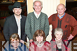 CD LAUNCH: Pictured with Mike Condon at the launch of his new Country Music CD in the Ballygarry House Hotel on Friday night are front l-r: Peg O'Sullivan, Eileen Myers and Eileen Nagle. Back l-r: Marty Daniels, Micheal Stack and Mike Condon.   Copyright Kerry's Eye 2008