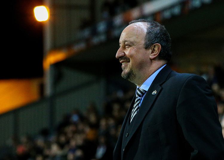 Newcastle United manager Rafa Ben&iacute;tez<br /> <br /> Photographer Alex Dodd/CameraSport<br /> <br /> Emirates FA Cup Third Round Replay - Blackburn Rovers v Newcastle United - Tuesday 15th January 2019 - Ewood Park - Blackburn<br />  <br /> World Copyright &copy; 2019 CameraSport. All rights reserved. 43 Linden Ave. Countesthorpe. Leicester. England. LE8 5PG - Tel: +44 (0) 116 277 4147 - admin@camerasport.com - www.camerasport.com