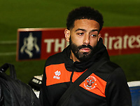 Blackpool's Liam Feeney <br /> <br /> Photographer Andrew Kearns/CameraSport<br /> <br /> The Emirates FA Cup Second Round - Solihull Moors v Blackpool - Friday 30th November 2018 - Damson Park - Solihull<br />  <br /> World Copyright © 2018 CameraSport. All rights reserved. 43 Linden Ave. Countesthorpe. Leicester. England. LE8 5PG - Tel: +44 (0) 116 277 4147 - admin@camerasport.com - www.camerasport.com