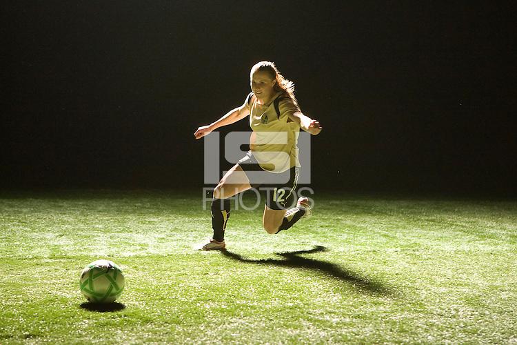 Rachel Buehler, WPS promotional video photo shoot.