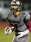 Torrance, CA 09/25/15 - Jerome Duhon (Torrance #1) in action during the El Segundo - Torrance varsity football game at Zamperini Field of Torrance High School