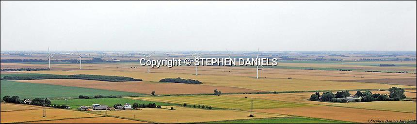 PHOTO BY © STEPHEN DANIELS 25.07.2008 <br /> Wind Farm