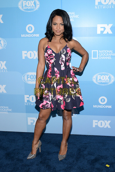 NEW YORK - MAY 11: Actress Christina Milian arrives at the 2015 FOX Programming Presentation Post Party at the Wollman Rink in Central Park on May 11, 2015 in New York City. <br /> CAP/MPI/PGCS<br /> &copy;PGCS/MPI/Capital Pictures