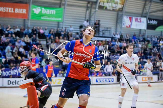 ROTTERDAM  - NK Zaalhockey . finale heren: SCHC-Amsterdam (2-2, SCHC wint shoot-outs) .Brent van Bijnen (schc).  COPYRIGHT KOEN SUYK