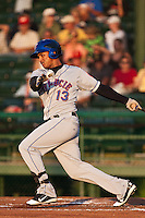 Left Fielder Juan Lagares of the St. Lucie Mets during the game against the Daytona Beach Cubs at Jackie Robinson Ballpark on May 25, 2011 in Daytona Beach, Florida. Photo by Scott Jontes / Four Seam Images